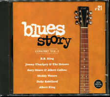 BLUES STORY - N°21 CONCERT VOL.2 - CD COMPILATION NEUF ET SOUS CELLO