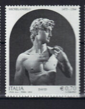 Italy 2014 David by Michelangelo in Galleria dell'Accademia Florence MNH Stamp