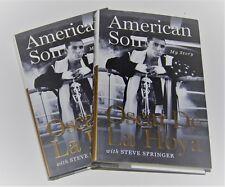 OSCAR DE LA HOYA signed (AMERICAN SON) HARDCOVER First EDITION BOOK W/COA BOXING
