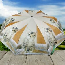 Drizzles Navy Grey Sausage dog Super Mini Umbrella With Cover UU332