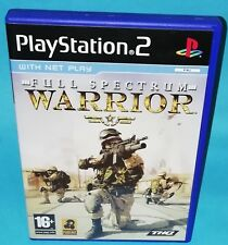Full Spectrum Warrior PS2 Playstation 2 Sony Video Game FREE UK P&P THQ Shooter