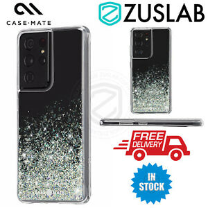 For Samsung Galaxy S21 Plus Ultra Case Case-Mate Twinkle Ombre Case Stardust