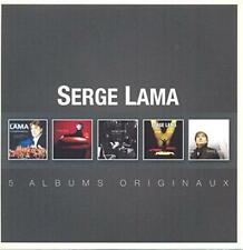 Serge Lama - Original Album Series (NEW 5CD)
