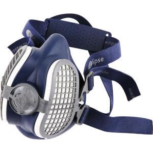 Elipse P3 R Half Mask Reusable Respirator + Filters Dust Vapour Fumes Mist