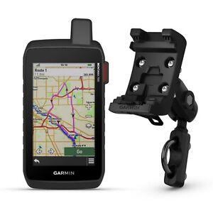 Garmin Montana 750i GPS, Motorcycle and ATV Mount Kit Bundle 010-02347-00