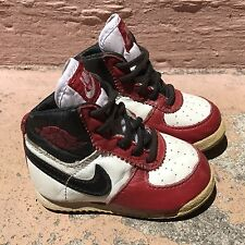 Vintage 1986 Nike Air Jordan 1 Baby Shoes 100%AUTHENTIC Size 2