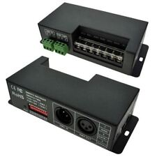 LED Supplies DMX Controller Const Voltage 12VDC - 24VDC 4 chan x 5A 20A Max