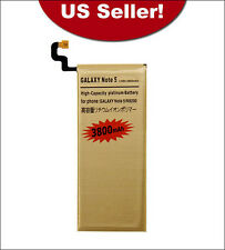 3800mAh High-Capacity Gold Replacement Battery for Samsung Galaxy Note V 5 N9200