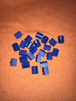 Monopoly Junior Rollercoaster Spare Replacement Houses/ticket Booths X 24 Blue