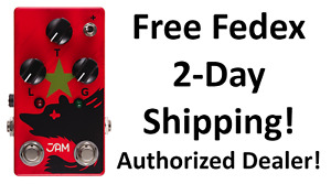 New JAM Pedals Red Muck MK.II Fuzz Guitar Effects Pedal