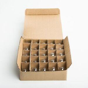 Box of 25 G30 CLEAR 5 Watt C7 Base Replacement Bulbs