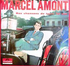 """MARCEL AMONT - LP """"NOS CHANSONS DE LEURS 20 ANS"""""""