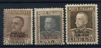 Somalia 1928 Sass. 116-118 Nuovo * 100% Somalia Italiana