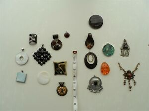 Job Lot of Pendants. Craft Supplies / Jewellery Making