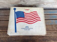 1989 JFK Commemorative Coin Set in Box