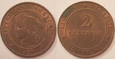 2 Centimes Cérès, 1897 A, SUP !!