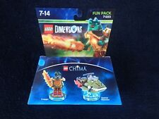 LEGO Dimensions 71223 Chima Fun Pack Cragger & Swamp skimmer AUS stock (#42)