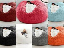 Soft Bean Bag Foam Giant Sofa Chair Microsuede Memory Living Room Chair Lazy