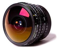FOCUS FISHEYE Peleng 8mm 3.5 FOR Canon EOS. AF Chip Dandelion for EXIF