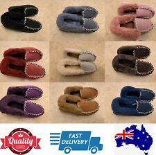 100% Sheepskins UGG Moccasin Slippers, Aussie Ladies' size measurement, AU stock