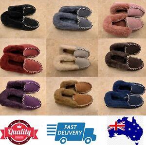 100% Sheepskins UGG Moccasin Slippers, Aussie Ladies' size measurement, AU stock