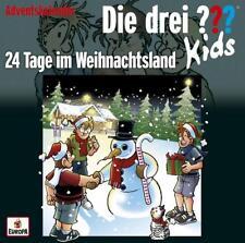 Die drei ??? Fragezeichen Kids Adventskalender: 24Tage im Weihnachtsland, Hsp.CD