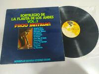 """Facio Santillana Sortilegio Flute de los Andes 1971 - LP vinyl 12 """" VG/VG - 3T"""
