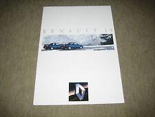 Renault 19/19 chamade folleto brochure de 4/1992, 8 páginas