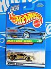 Hot Wheels 1998 Dash 4 Cash Series #722 Ferrari F40 Gold w/ WSPs