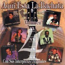 Aqui Esta la Bachata, Vol. 4 by Various Artists (CD, Jun-1999, Platano Records)