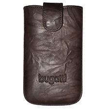Bugatti Tasche SlimeCase 07726 Leder Gr. SL, tobacco, (80,8x134mm), Case