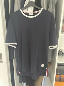 Thom Browne T-shirt Size 4 Navy