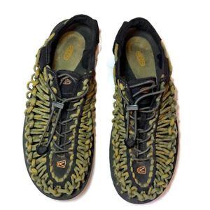 Keen Uneek Cord Sandals Green Size 11.5 US