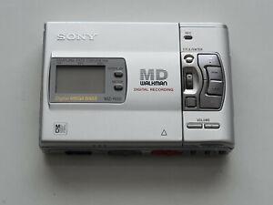 SONY WALKMAN MINIDISC MD PLAYER / RECORDER MZ-R50 MINI DISCMINT CONDITION