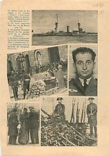 Guerre d'Espagne Guerra espanola General Francisco Franco War 1936 ILLUSTRATION