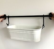 IKEA FINTORP Condiment Stand White Black