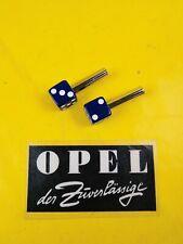 NEU Set UNIVERSAL Oldtimer Türknopf Würfel Türpins Türpin Knopf dunkel blau