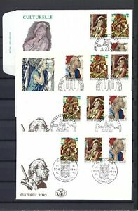 [LG13469] Belgium N°1505/1507FDC First Day Cover COB € 20,00 SUPERB
