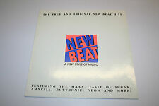 "New Beat -A New Style Of Music (V.A.)- 1988 LP 12"" + orig. Innenhülle"