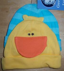 New Gerber 2 Pack Boy's Baby Caps, Baby Shower Gift, Hat, 0-6 Months