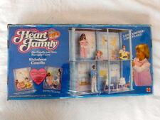 THE HEART FAMILY CASETTA HOUSE MATTEL VINTAGE TOYS BRAND NEW IN BOX