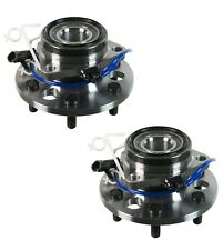 Pair Set 2 Front Moog 6 Stud Wheel Bearing Hub Assies Kit for Cadillac Chevy GMC