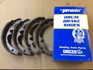 New Pronto Remanufactured Drum Brake Shoe Shoes Rear B152