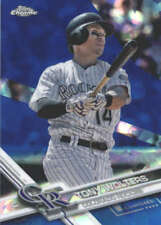 TONY WOLTERS 2017 TOPPS CHROME SAPPHIRE EDITION #516 ONLY 250 MADE