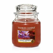 YANKEE CANDLE Mittlere Kerze VIBRANT SAFFRON 411 g Duftkerze