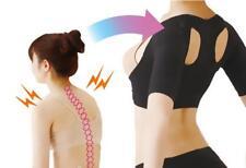 Women's Arm Slimmer Corrector Humpback Hunchback Posture Bra Shaper Black