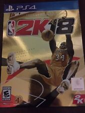 NBA 2K18 Legend Gold Edition (Sony PlayStation 4, 2017, PS4) NEW Ships Fast!!