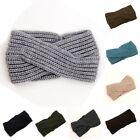 Women's knitted headband crochet winter warmer lady hairband Hair Band headwrap