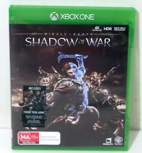 Middle Earth Shadow of War - Xbox One - Free Postage