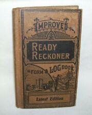 Ready Reckoner Form & Log Book 1940
